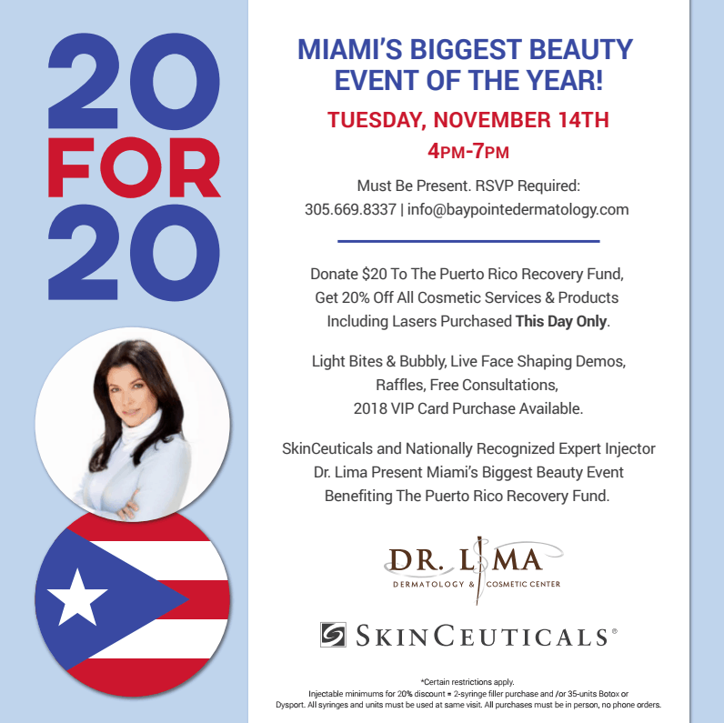 20 for 20: Miami's Biggest Beauty Event of 2017